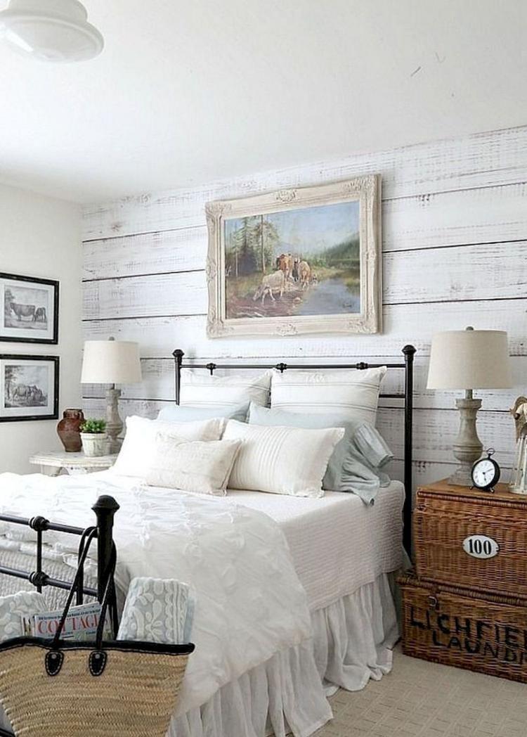 70 Luxury Rustic Farmhouse Bedroom Master Suite Decor Ideas
