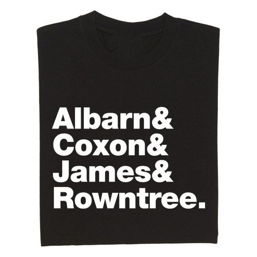 Blur Band Line Up T Shirt