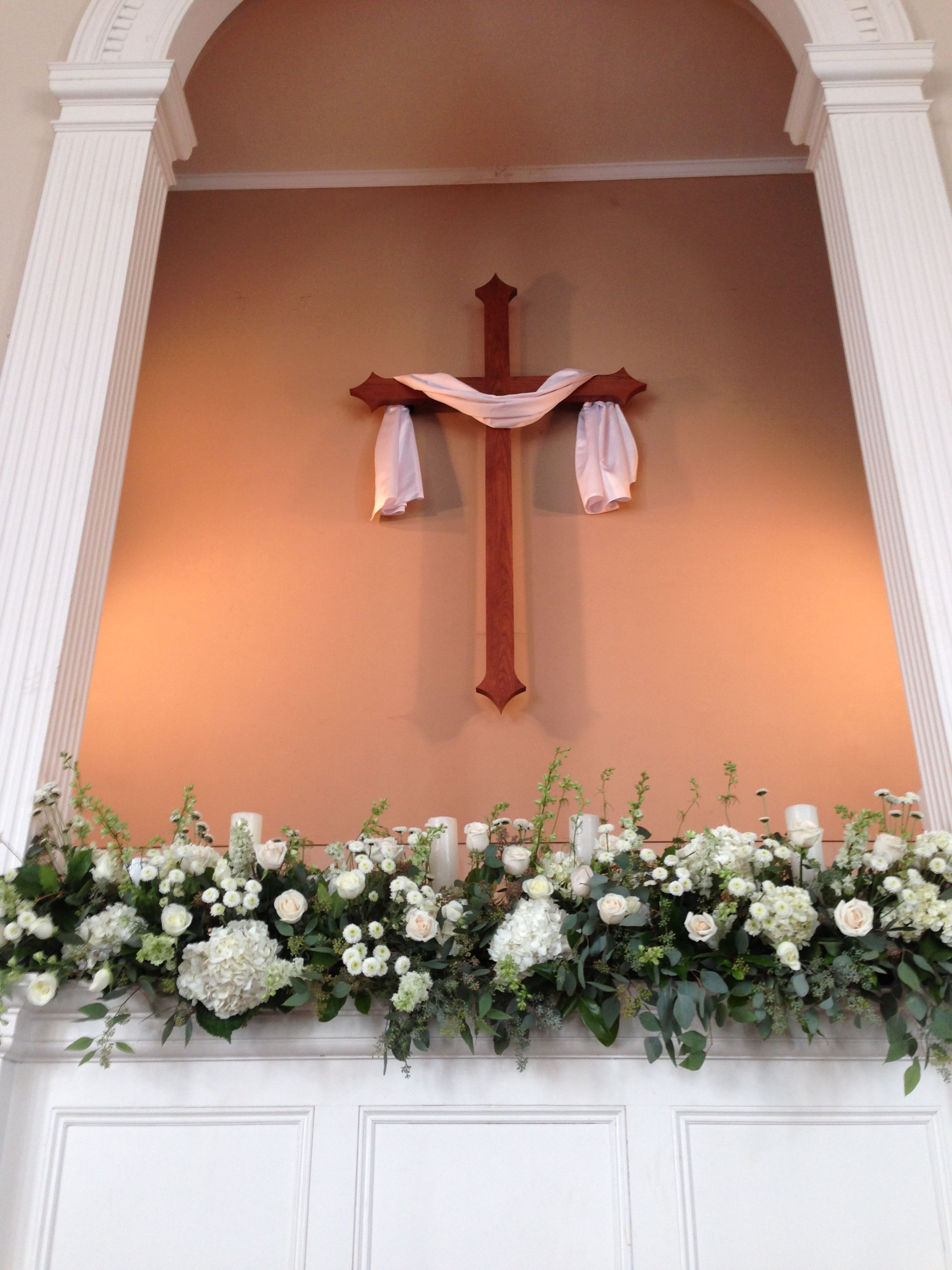 Ways To Save Money In Church Flower Arrangements Church Wedding