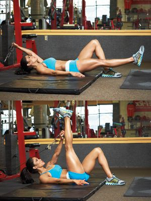 shortcut to amazing abs  muscle fitness cable workout