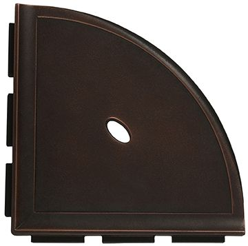 Dark Oil Rubbed Bronze 8 Corner Shelf Corner Shelves Oil