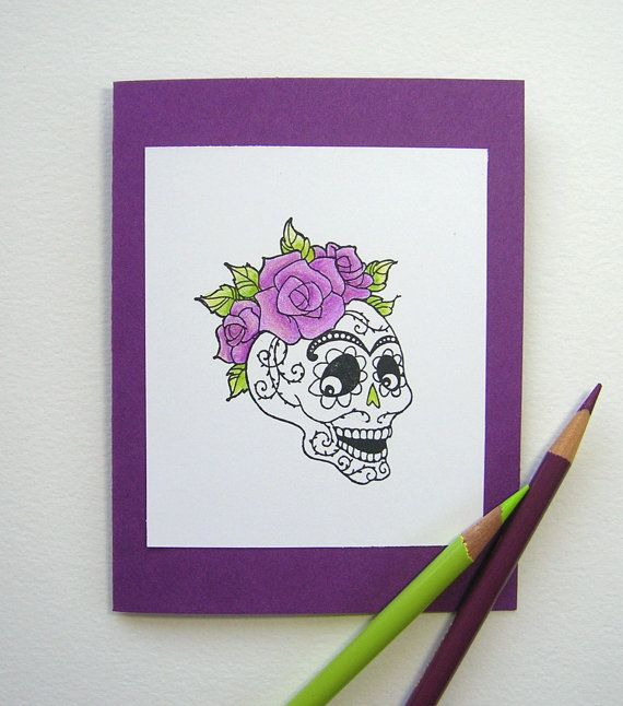 Day of the dead greeting card dia de los by speakyourmind1 got day of the dead greeting card dia de los by speakyourmind1 m4hsunfo
