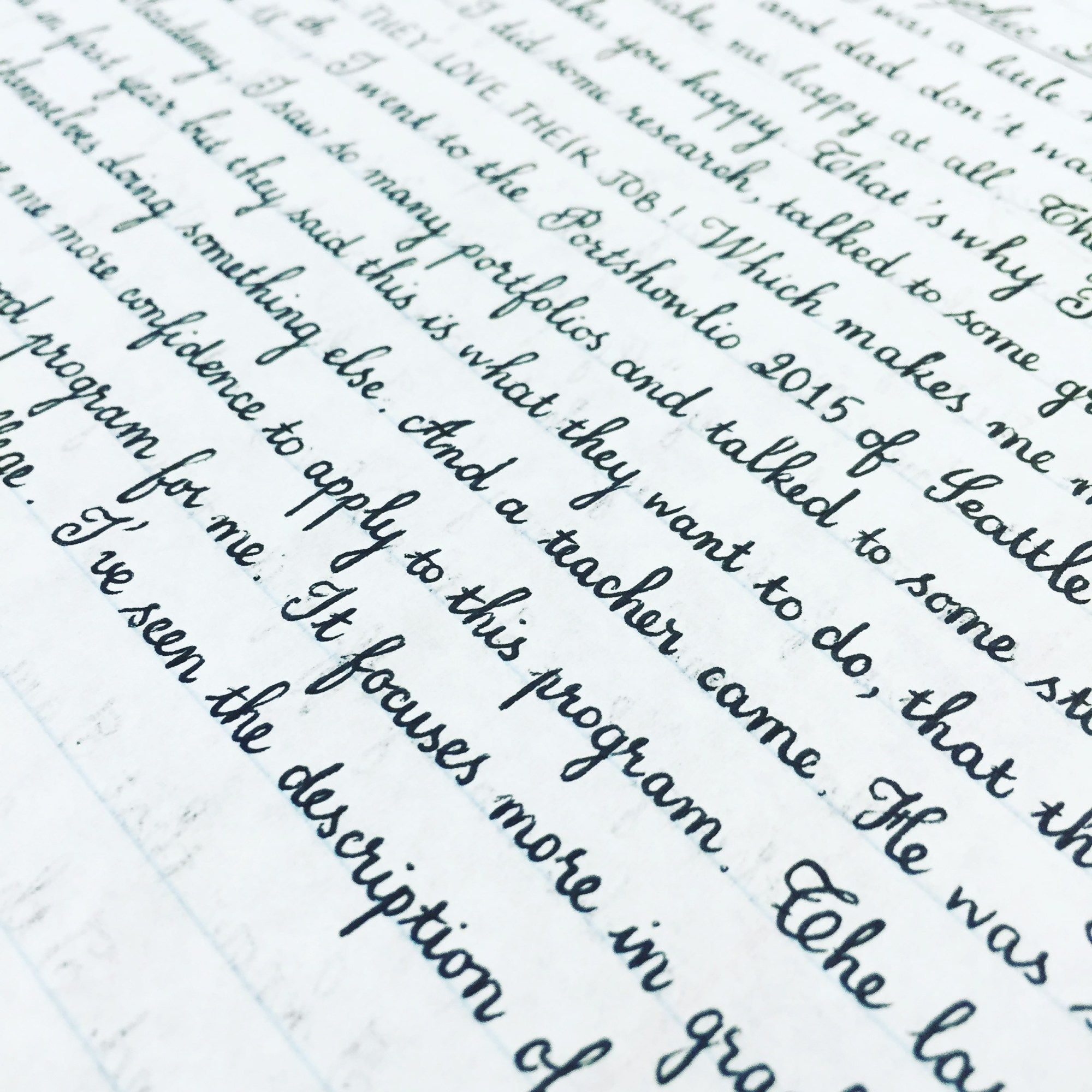 25 Amazing Examples Of Perfect Handwriting With Images
