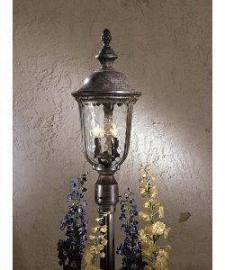 the great outdoors 8995 61 2 light ardmore post mount light by