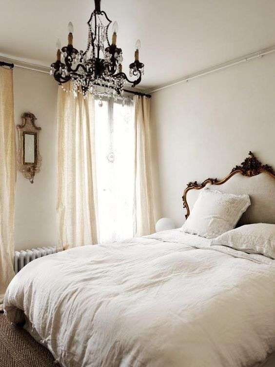 Camera da letto in stile parigino nel 2019 | Camera da letto ...