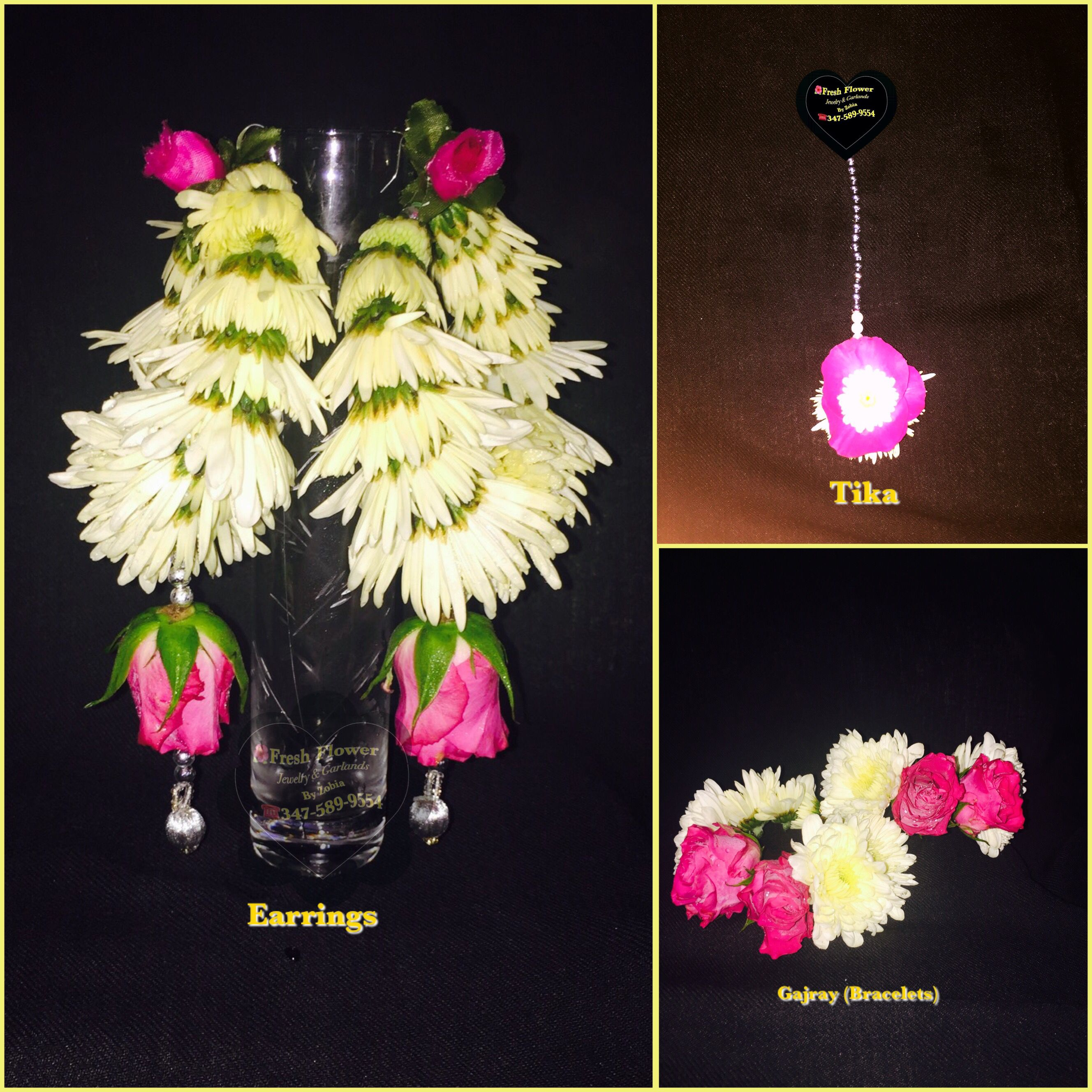 Fresh Flower Jewelry For Brides Whatsapp 347 589 9554 Fresh