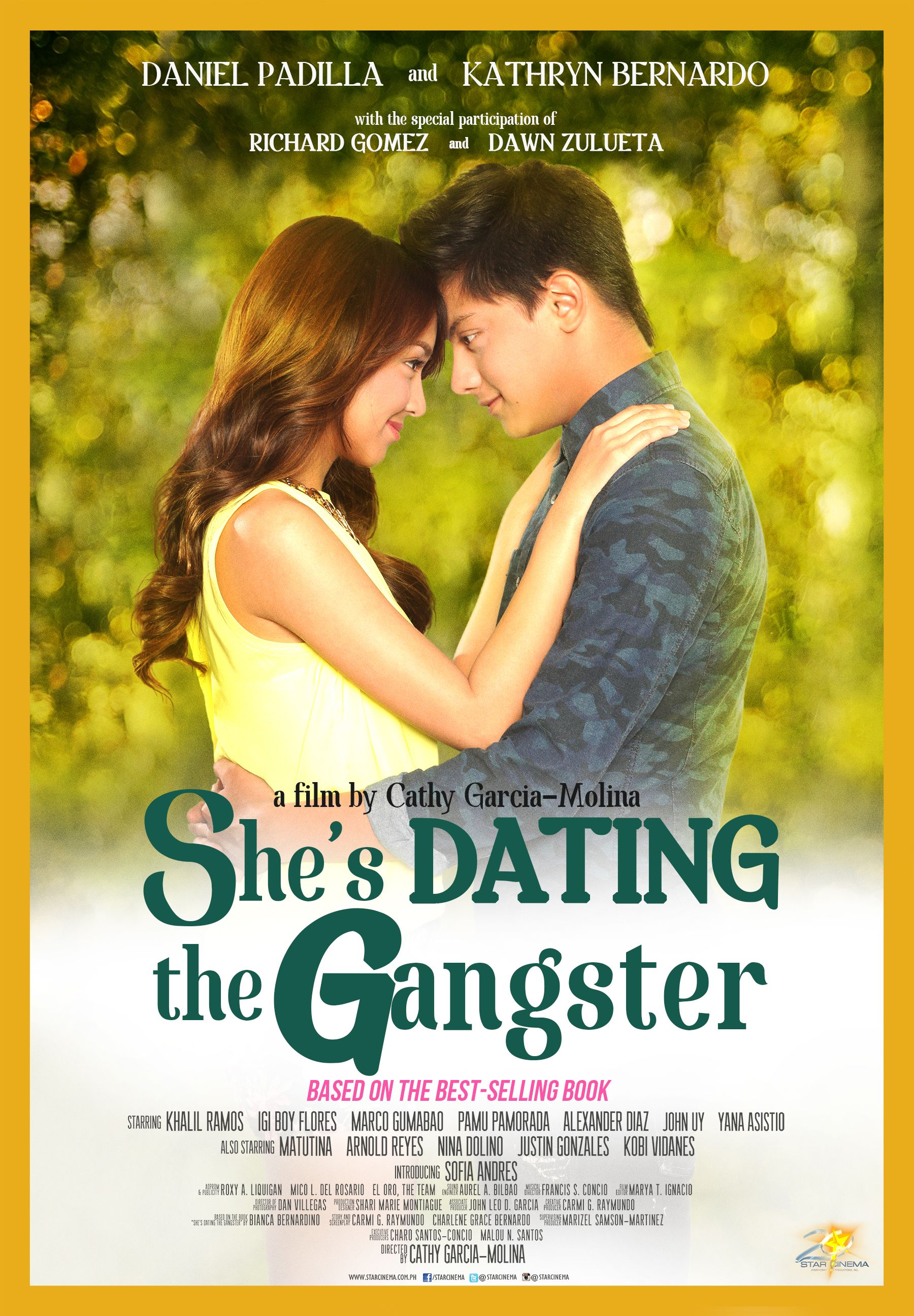 She S Dating The Gangster 2014 Starring Daniel Padilla Kathryn Bernardo Pinoy Movies Gangster Movies Gangster