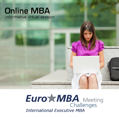 Study an #OnlineMBA. The Euro MBA is rated in the top 4 worldwide by ...
