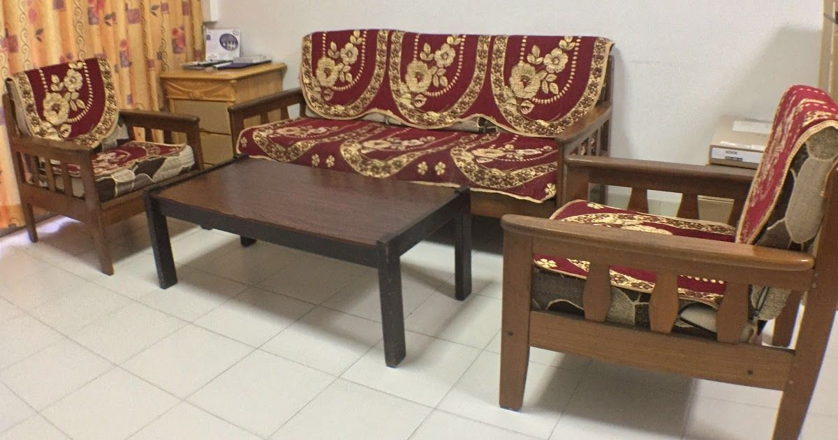 Vintage Wooden Sofa Set Furniture Sofas On Carousell Leather Wooden Sofa Set American Antique Style G In 2020 Sofa Set Designs Wooden Sofa Set Wooden Sofa Set Designs