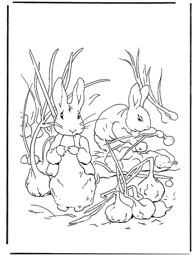 coloring pages | Beatrix Potter Storytime Ideas | Pinterest | Crafty