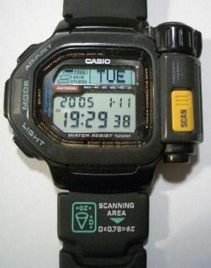 Casio tsr100 thermo scanner i love casio pinterest casio swiss army watches and army watches for Thermo scanner watch