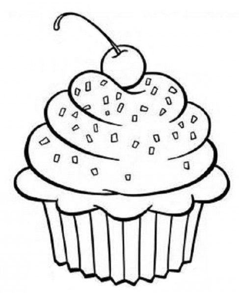 Pin By Stephanie Brame On Great Printables Cupcake Coloring Pages Coloring Pages Printable Coloring Pages