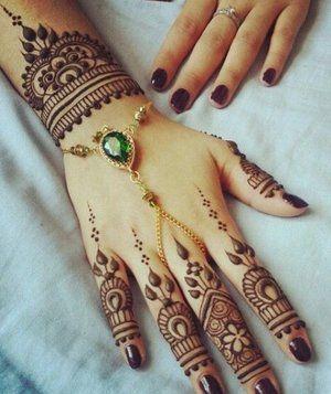 Tatuajes Con Henna Hindu