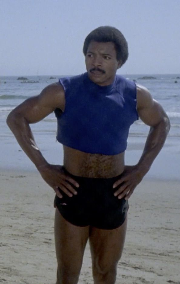 Rocky Apollo Beach : rocky, apollo, beach, Rocky, (1982), Photo, Gallery, Film,, Weathers,, Apollo, Creed