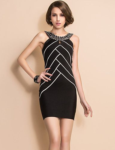 Black bodycon dress for homecoming x 2017