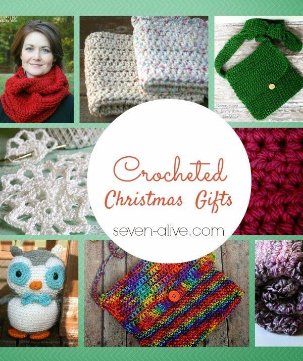 Quick Crocheted Christmas Gifts | Monederos, Gorros y Tejido