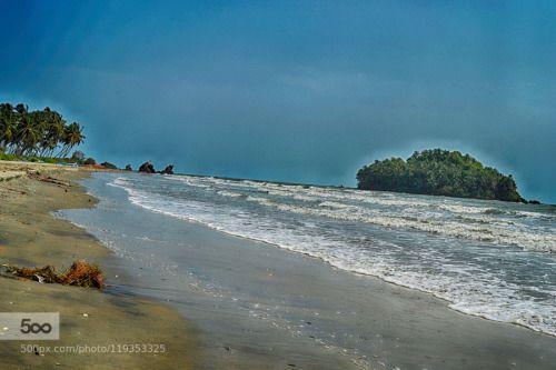 island  of Malabar by bthottoli  beach beach shot clouds coast ocean sand seascape sky travel waves bthottoli