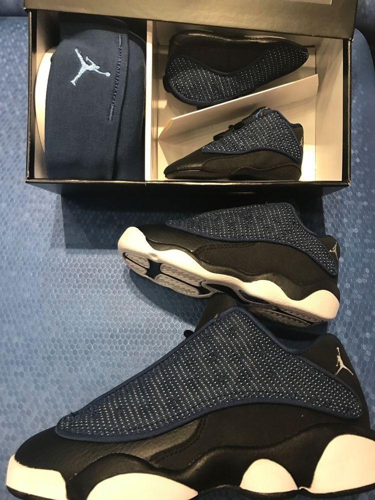 d3b5e8953a8 AIR JORDAN 13 RETRO LOW BRAVE BLUE TODDLER PRESCHOOL GRADESCHOOL SIZES  4C-7Y #Nike #BasketballShoes
