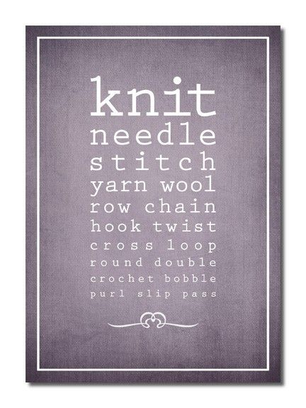Knitting Jokes Posters : Pin by jerrie mcarthur on knitting pinterest knit