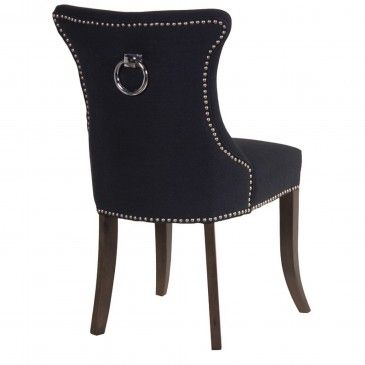 Cheap Black Leather Dining Room Chairs