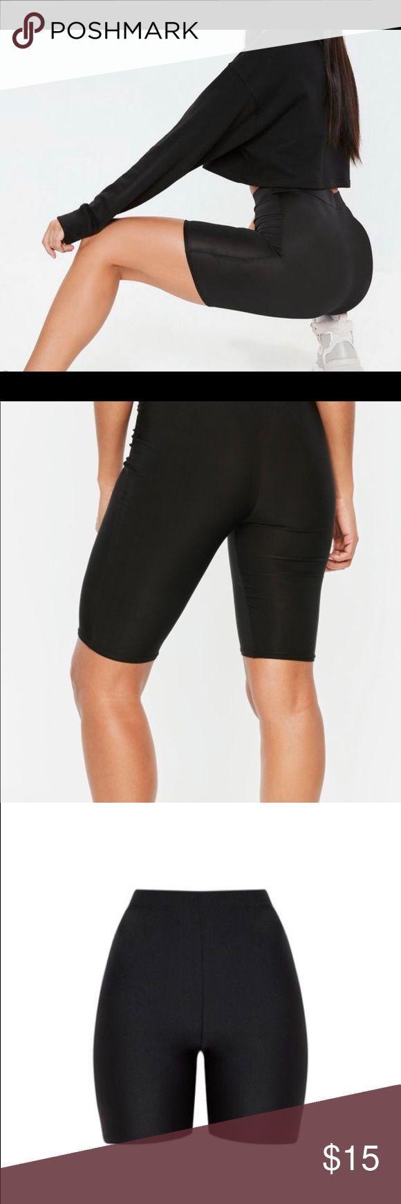 Disco biker shorts black Black disco biker shorts, between mid thigh and knee le...  #biker #black #Disco #knee #Mid #Shorts #thigh