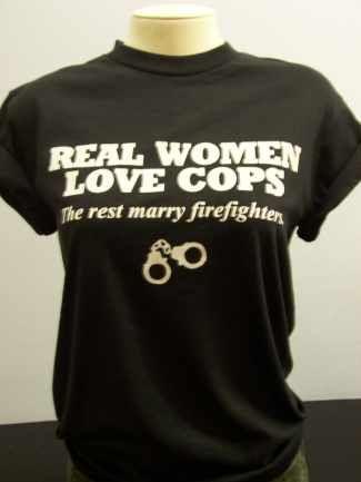 Real women marry cops