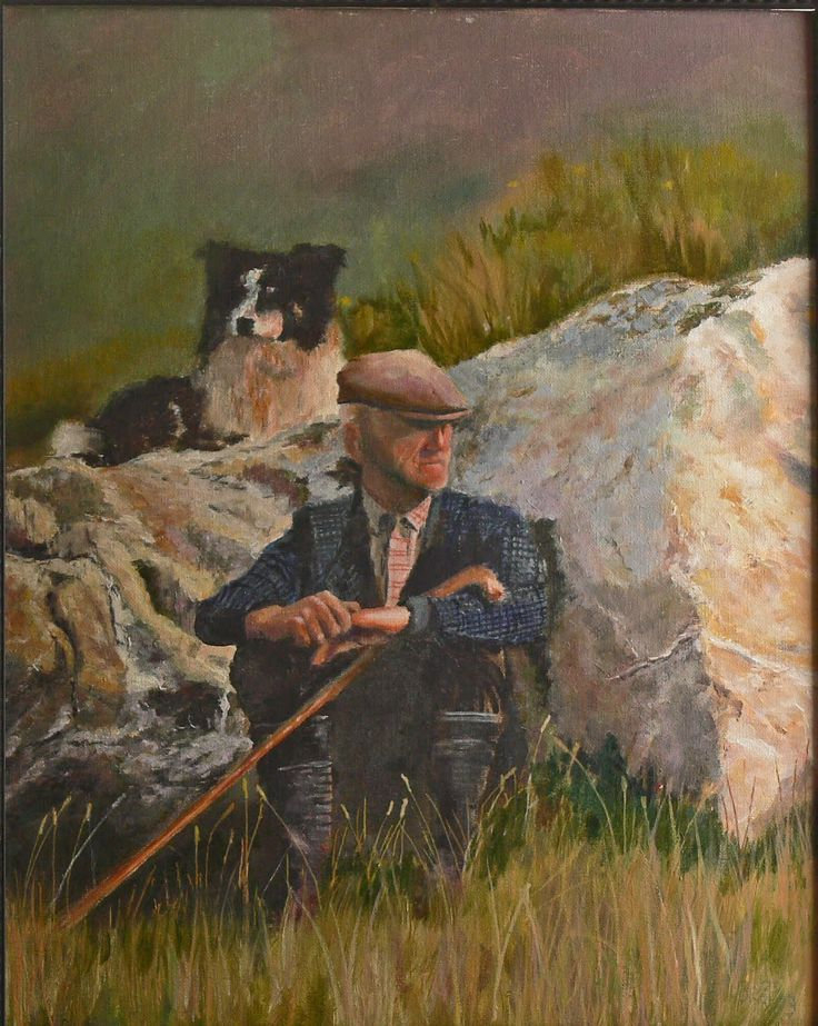 Art by Horst: Irish Sheep Herder | Irish Roots | Pinterest ...