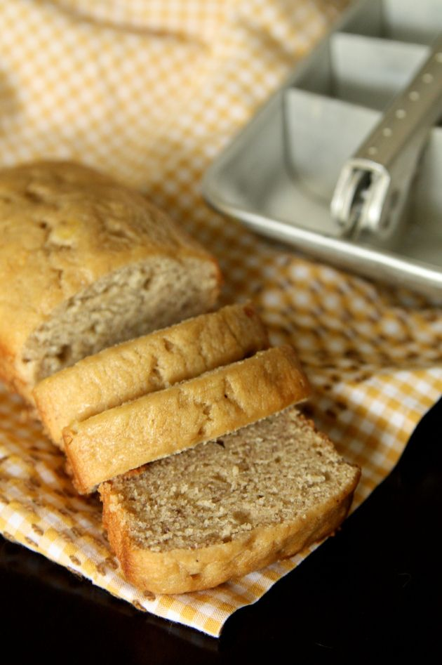 Best banana bread recipe I have tried! Put in large individual cups. I got rave reviews!