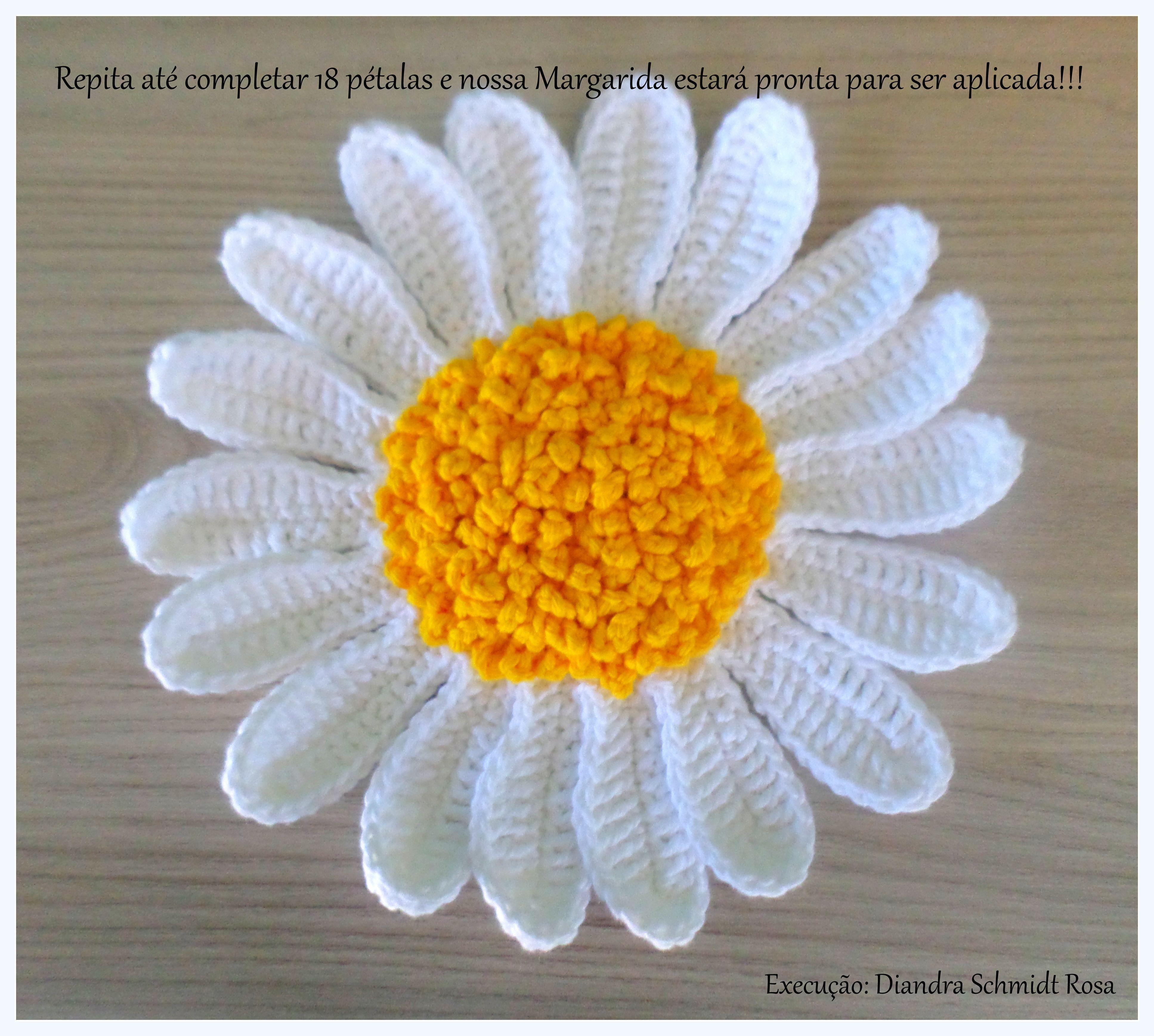 Pin von Diandra Schmidt Rosa auf P.a.p Flor Margarida para aplicação ...