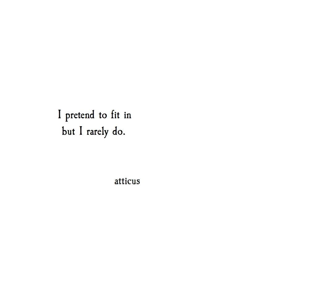 'Pretend' #atticuspoetry #atticus #loveherwild #pretend
