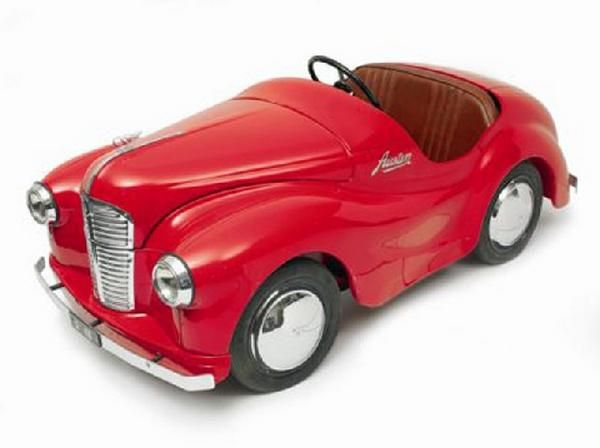 This Is A Fully Red Austin J40 Roadster Pedal Car Mine Was Second Hand And Repainted Royal Blue With Yellow Ts I Loved That