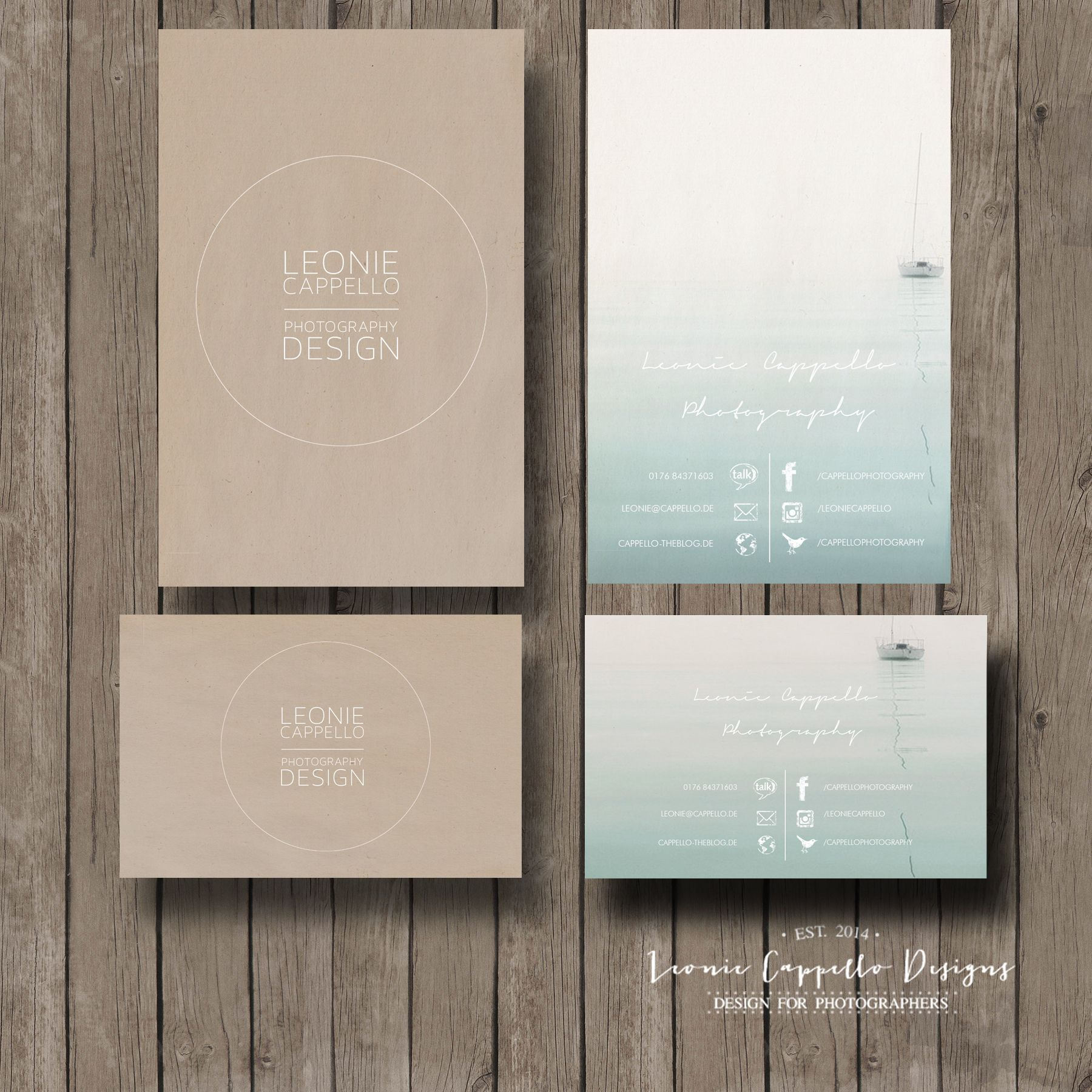 VISITENKARTE Clean vol 1 Visitenkarte LC Designs