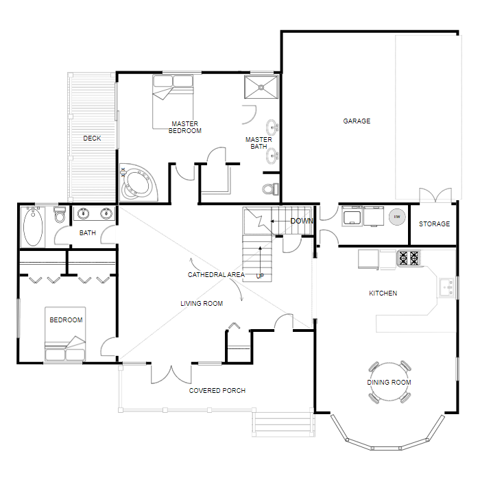 Floor Plan Creator And Designer Free Easy Floor Plan App In 2021 Floor Plan Creator Floor Plan App Simple Floor Plans