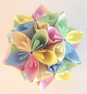 simplemente flores de papel
