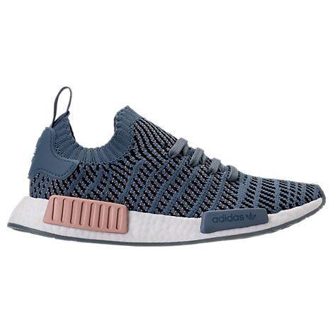 Adidas Originals  mujer 's NMD R1 stlt primeknit zapatos casuales, azul