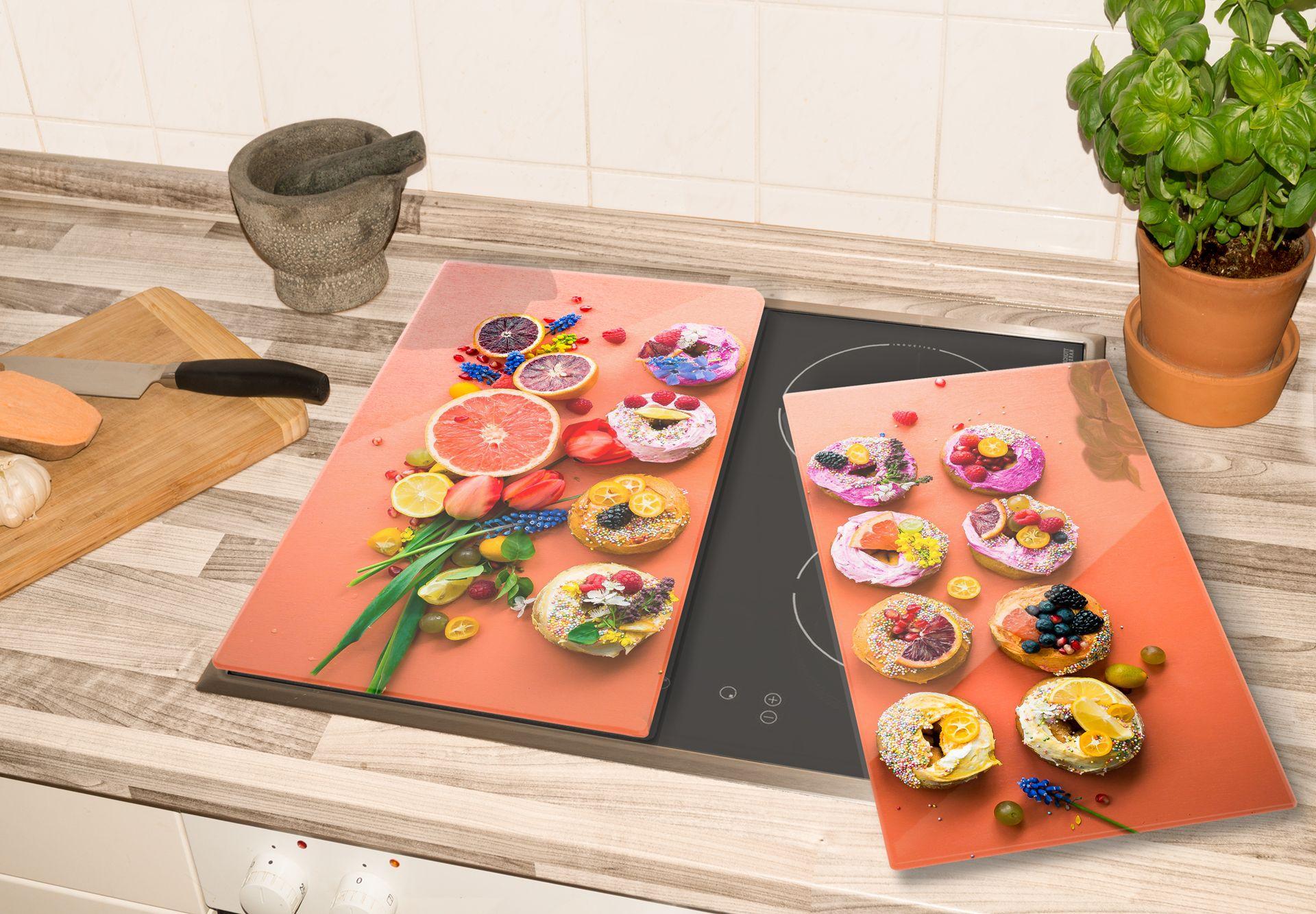 Herdabdeckplatte Spring Sweets von wall-art.de Schutzplatten für den Herd mit frischen Designs!