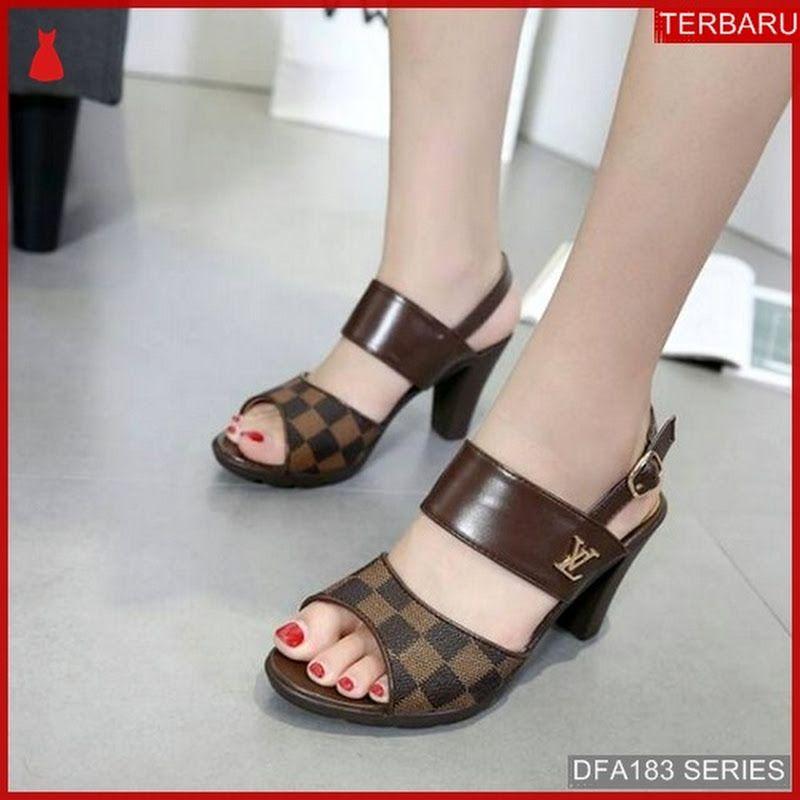 Dfa183h30 Hs89 Sandal Heels Busyra Wanita 2157 Dewasa Bmgshop