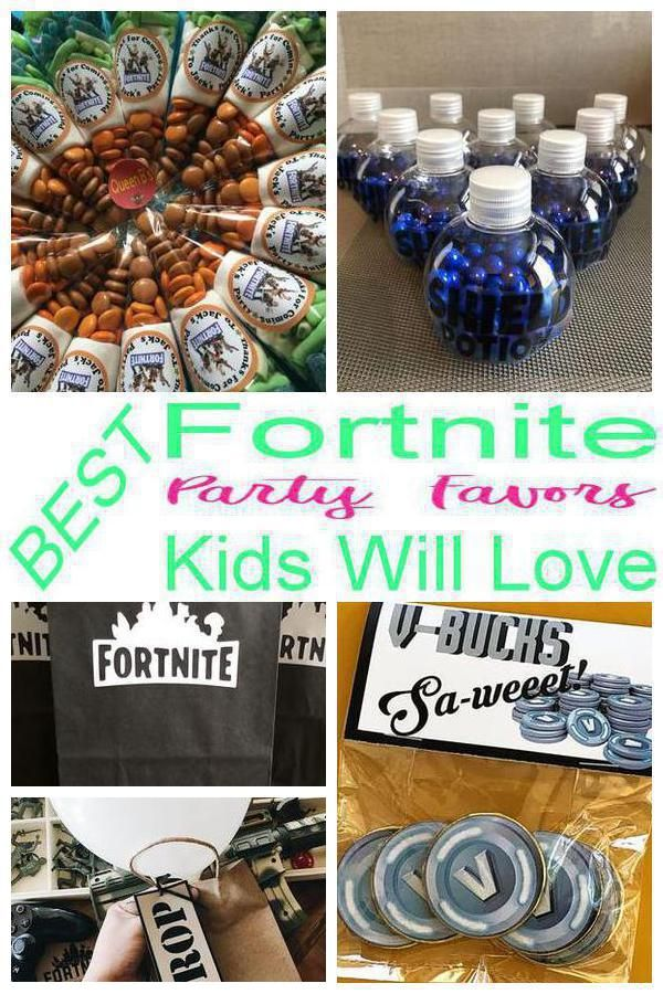 Fortnite Party Favor Ideas | Best Kids Birthday Party ...