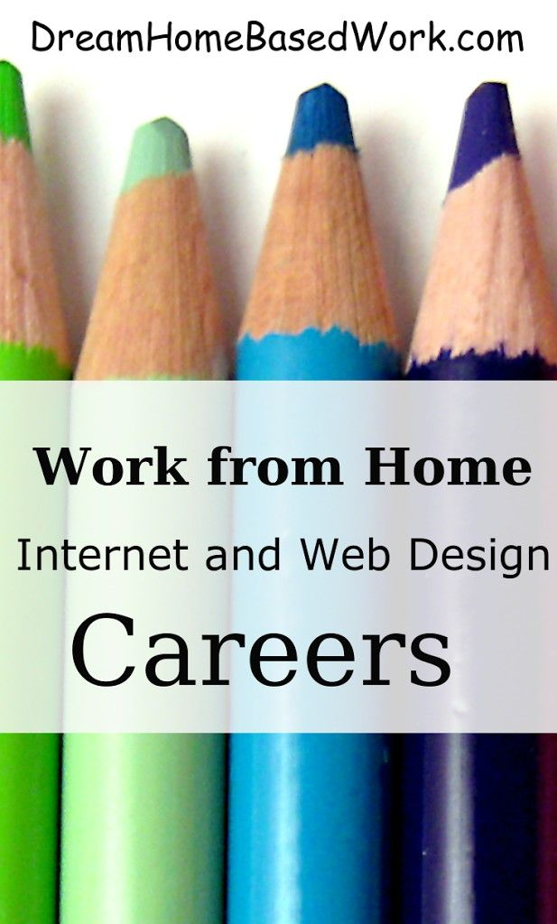 Internet and Web Designing Jobs at Home | Home, At home and Web design