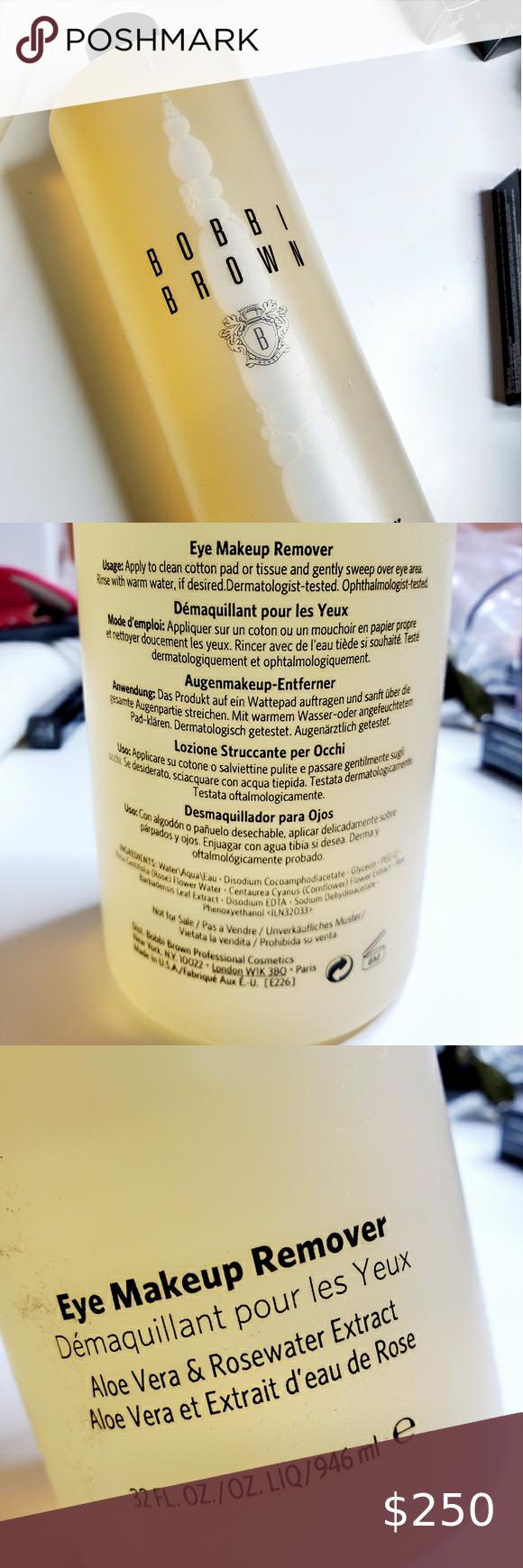Bobbi brown eye makeup removal new in 2020 Eye makeup