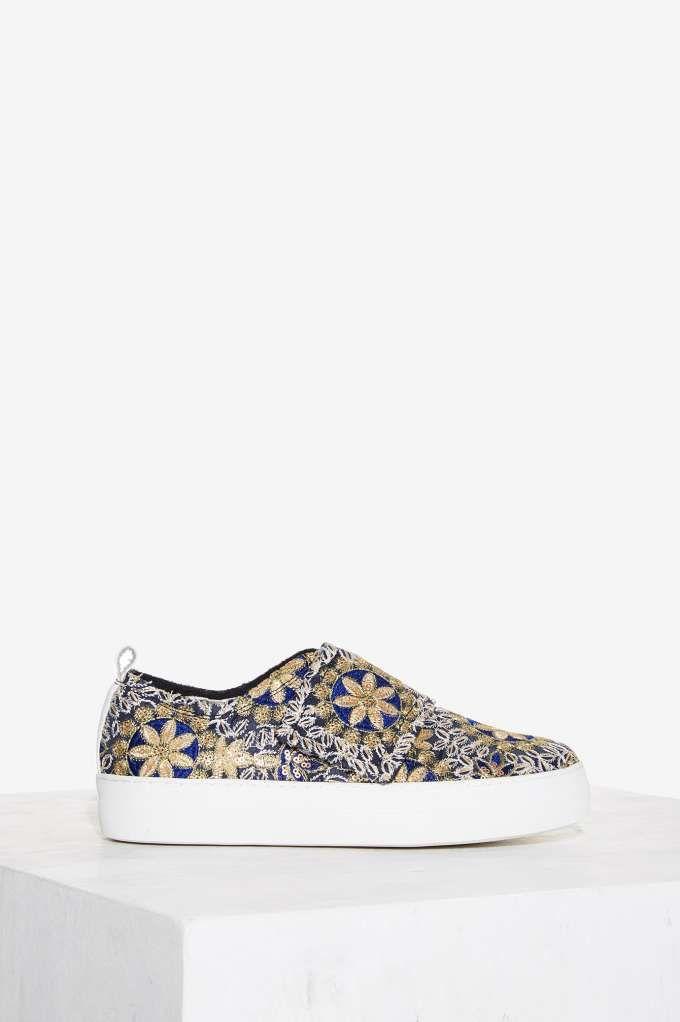 E8 by Miista Reanna Woven Platform Sneaker mCxskJ