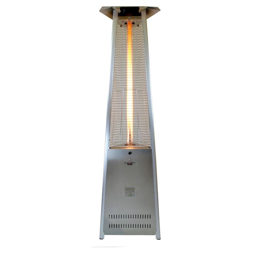 Lava Lite-SS-LP Lite Liquid Propane Gas Patio Heater - Stainless ...