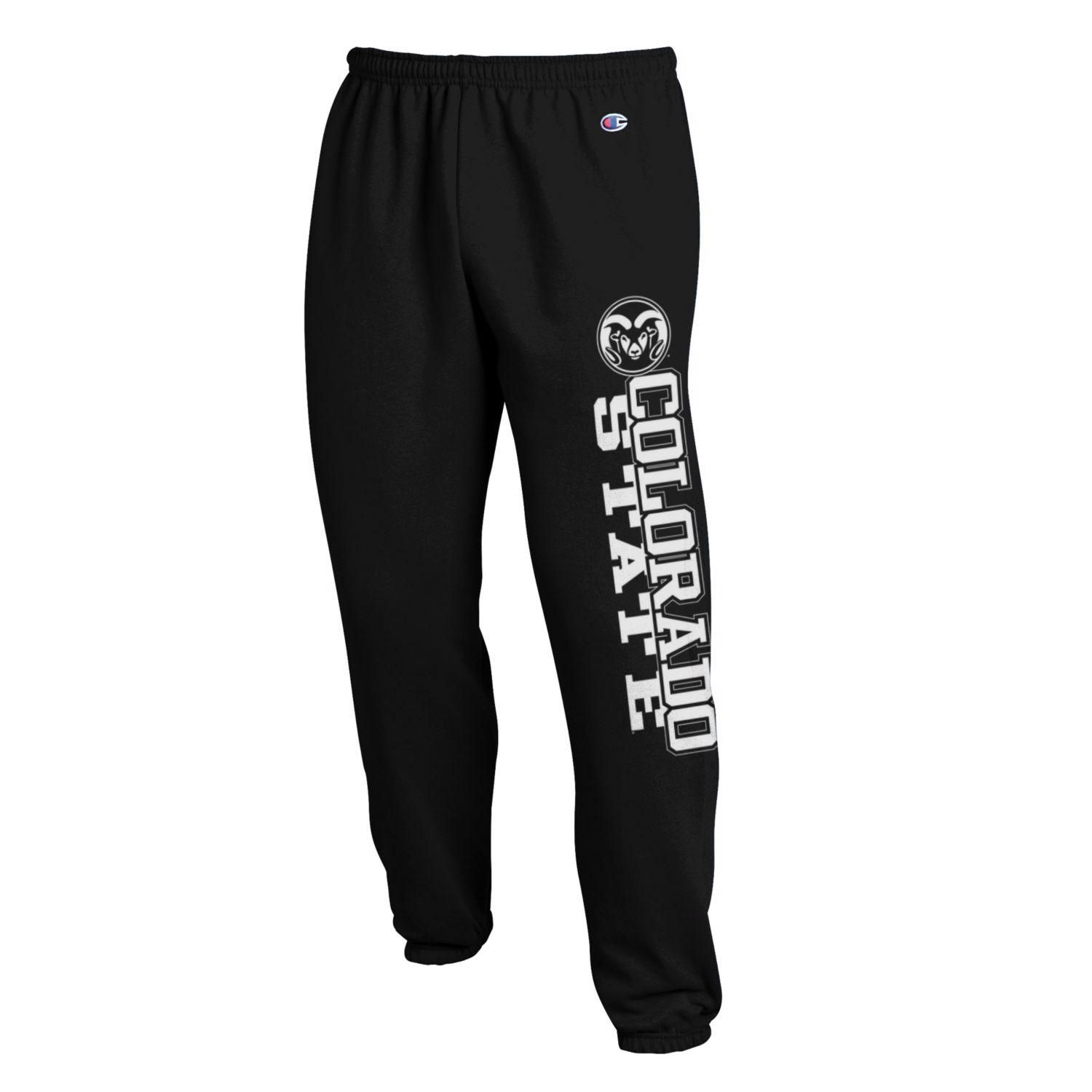 Time To Get Comfy Champion Black Colorado State University Sweatpants Sweatpants Colorado State University Cute Outfits For School [ 1500 x 1500 Pixel ]