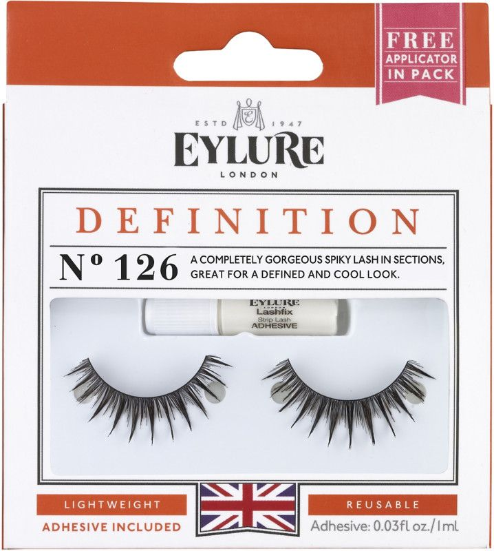 05193a5afe5 The Eylure Definiton Eyelashes No. 126 is a completely gorgeous spiky lash  in cool sections