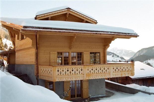 Swiss chalet baluster pattern dwell pinterest swiss chalet