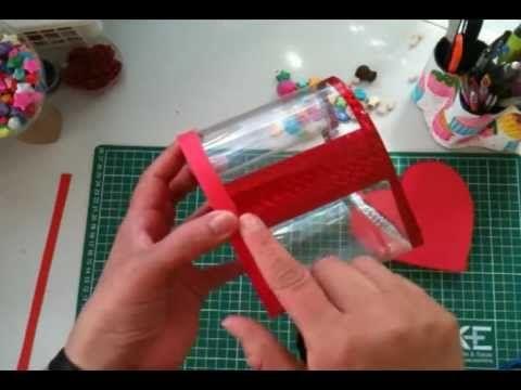Manualidades cajas con botellas de pl stico reciclaje - Botellas de plastico manualidades ...