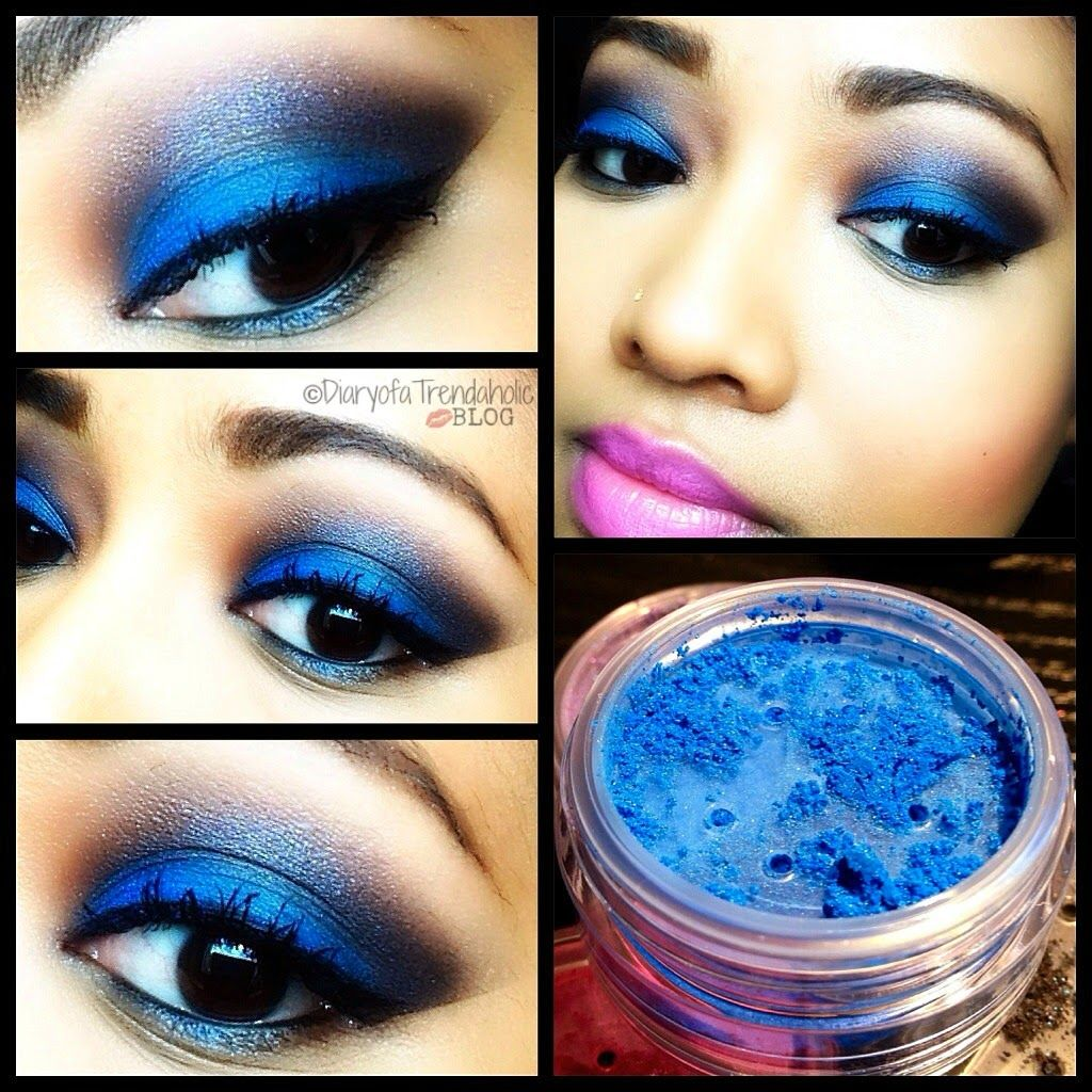 Maybelline Color Tattoo Pure Pigments Review Blue eye