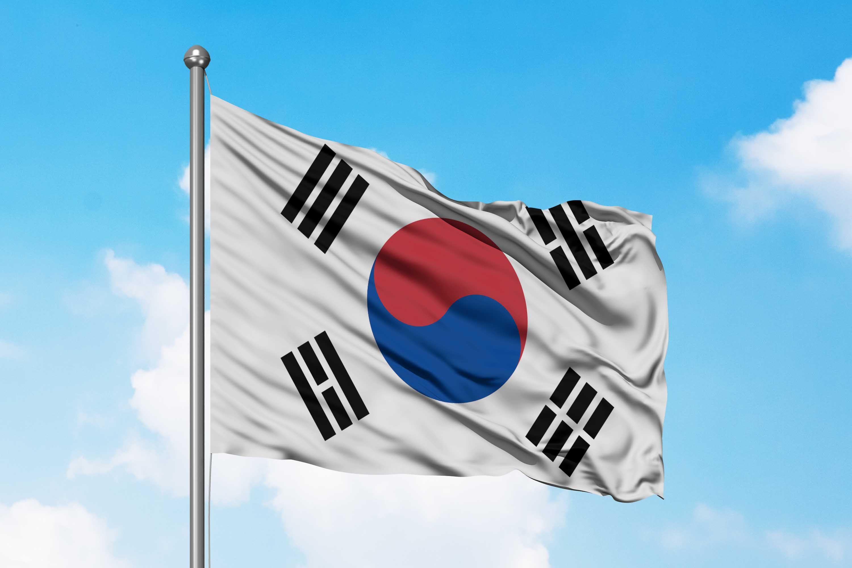 Bendera Korea Selatan Bendera Korea Selatan Korea