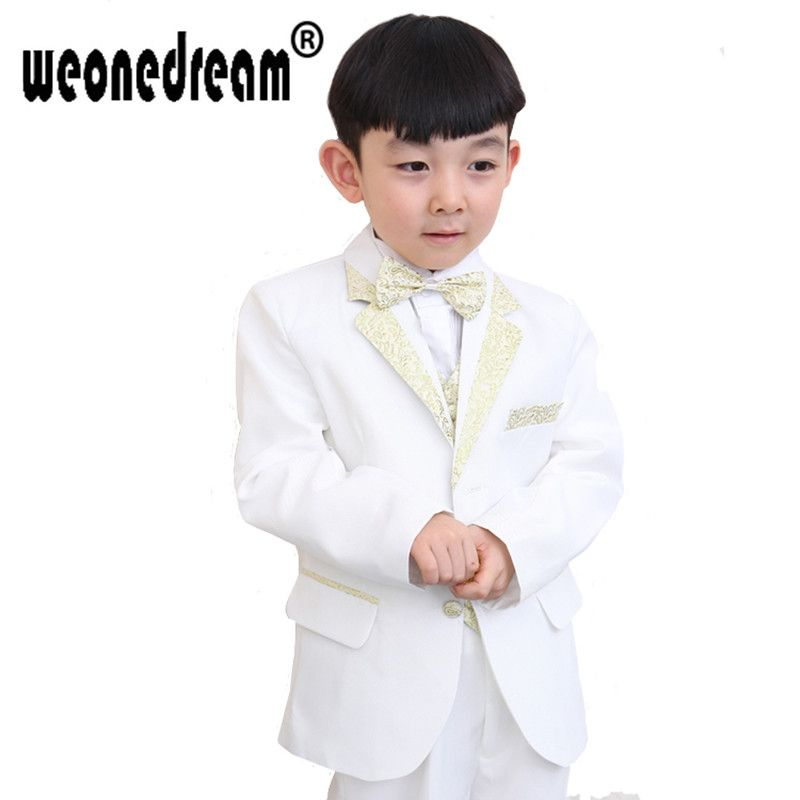 Click to Buy << Wedding Suit Boys Clothes Boys Suits for Weddings ...