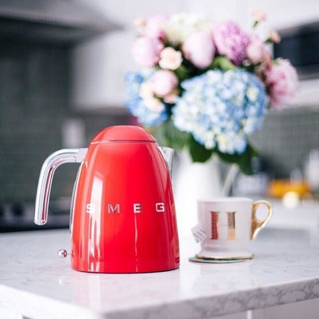 SMEG Electric Kettle from West Elm $129.95 Photographer: Hoang-Kim Cung